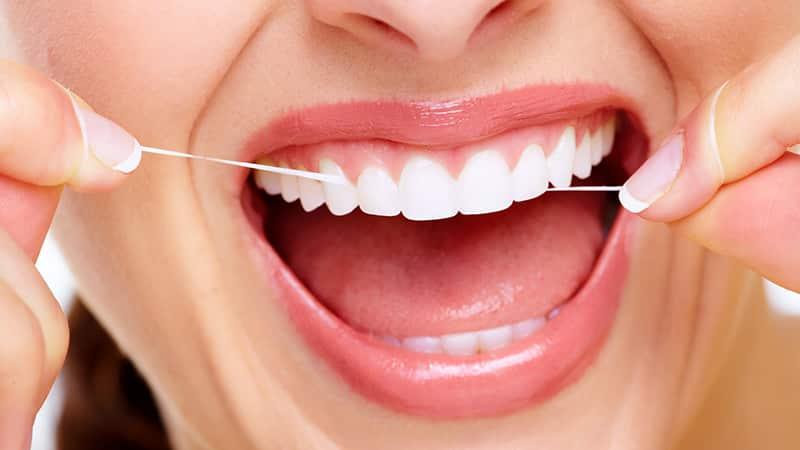 Зубная нить как правильно использовать
