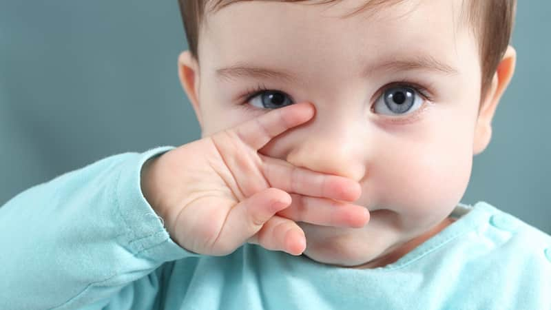 Плохой кислый сладкий запах изо рта у годовалого ребенка