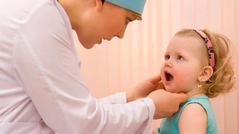 Лечение детского стоматита