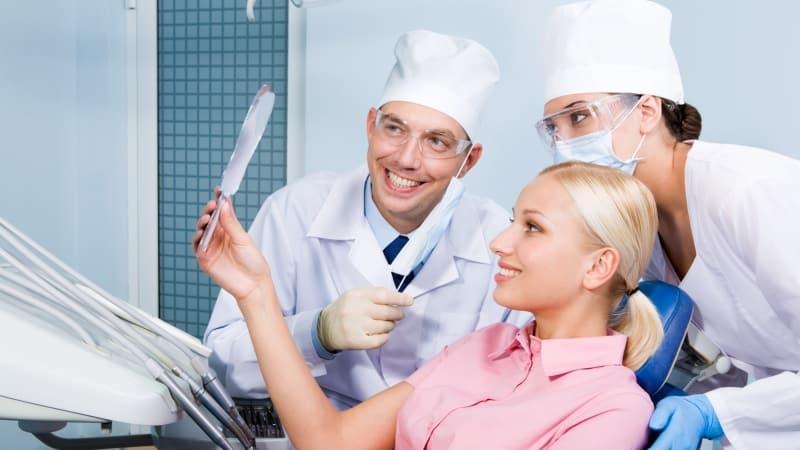 чистка зубного камня ультразвуком