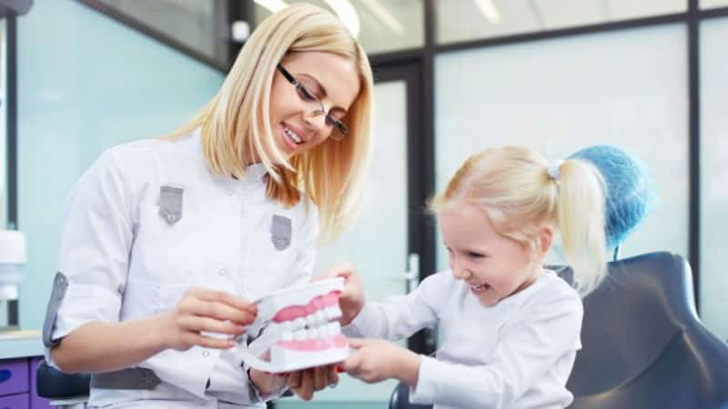 серебрение зубов детям фото