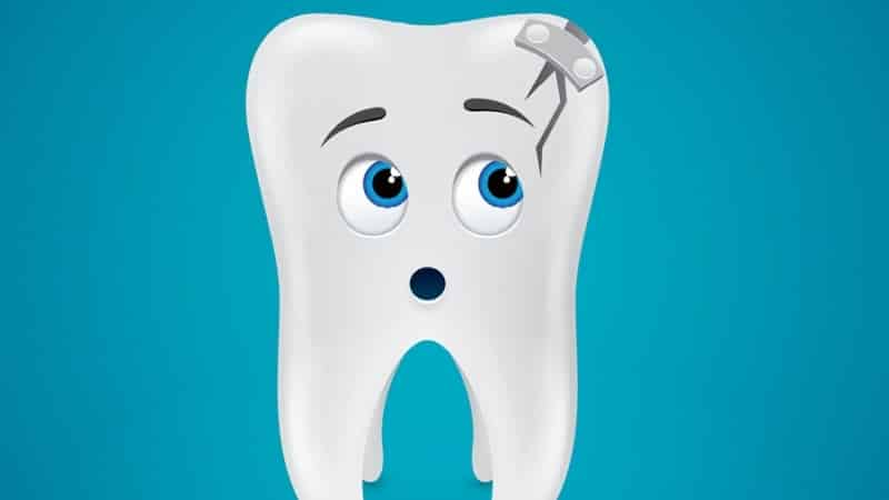 что делать, если треснул зуб.