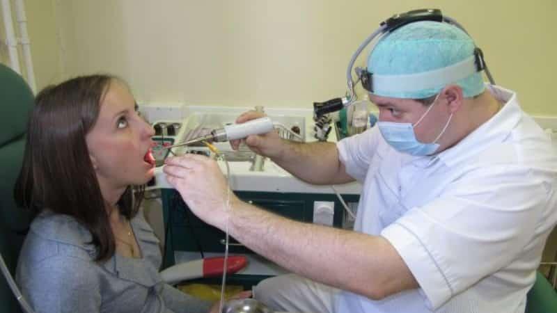 чем лечить гнойный тонзиллит