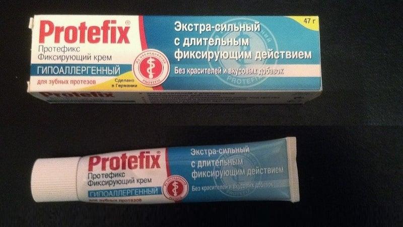 клей для съемных зубных протезов