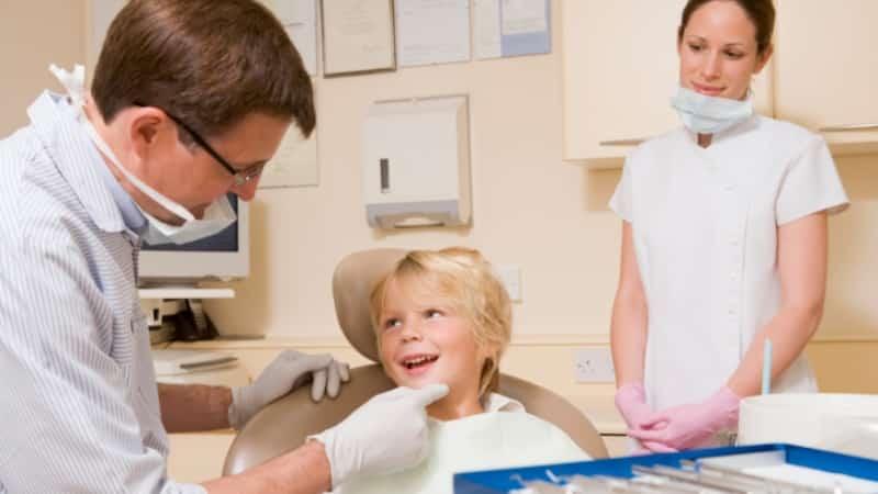 челюсть ребенка перед сменой молочных зубов фото