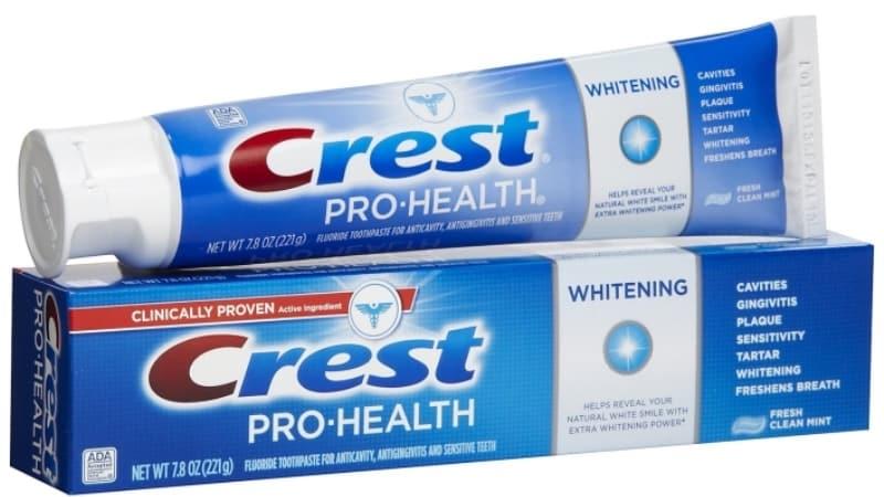 самая хорошая отбеливающая зубная паста