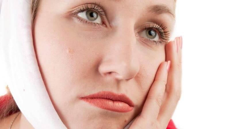 удаление зуба при флюсе