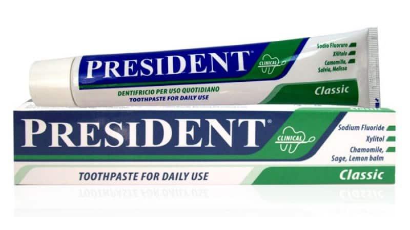 Фторсодержащие зубные пасты
