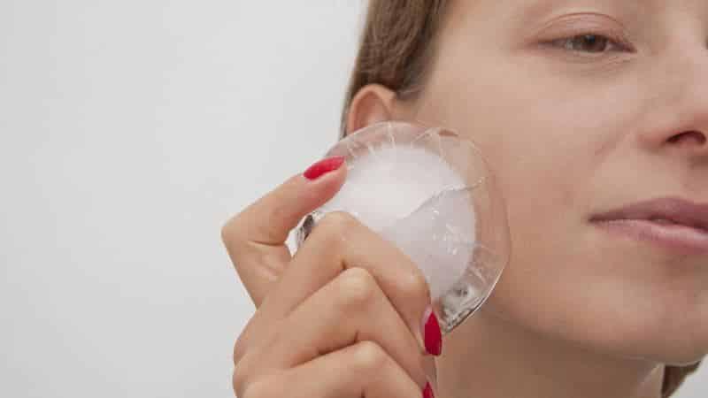 опухла щека после лечения зуба что делать
