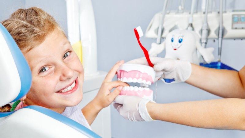 как следить за зубами
