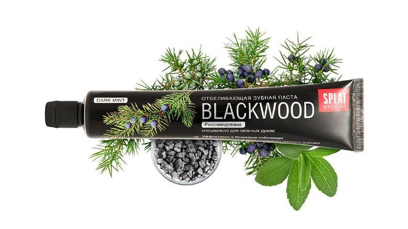 Черная зубная паста SPLAT Blackwood: состав, отзывы