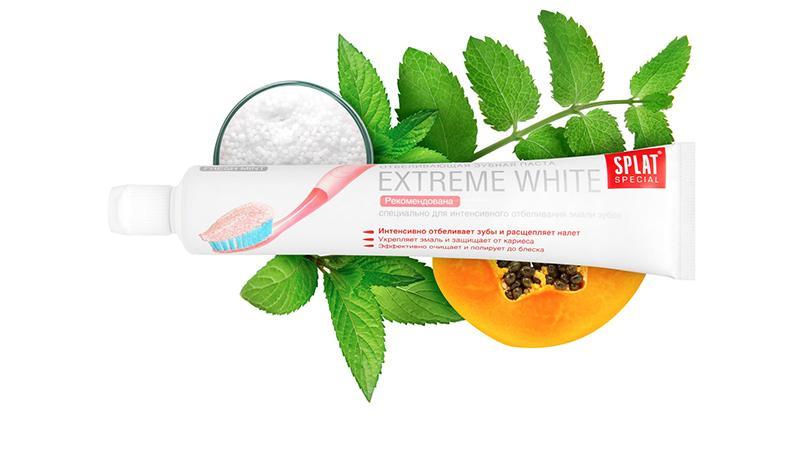 Зубная паста SPLAT Extreme white: отзывы