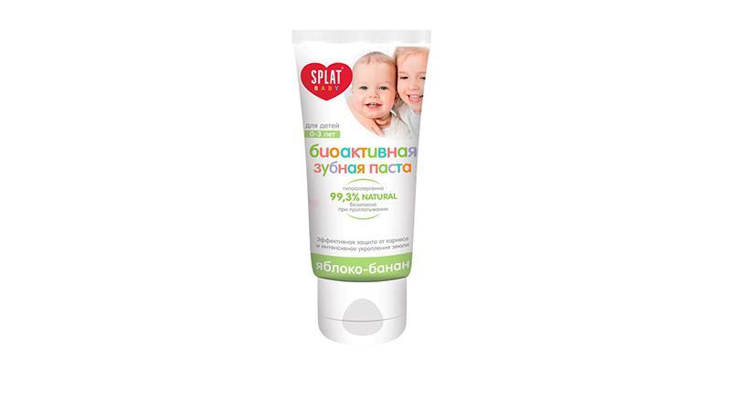 Зубная паста для детей SPLAT Baby