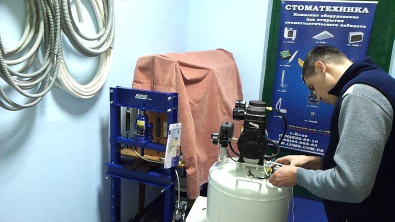 Как устроен стоматологический компрессор