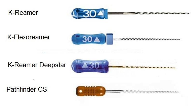 Какие бывают эндодонтические инструменты